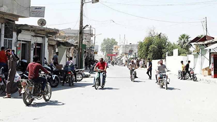 Teröristlerin kol gezdiği Tel Abyad ve Resulayn'da artık huzur hakim.