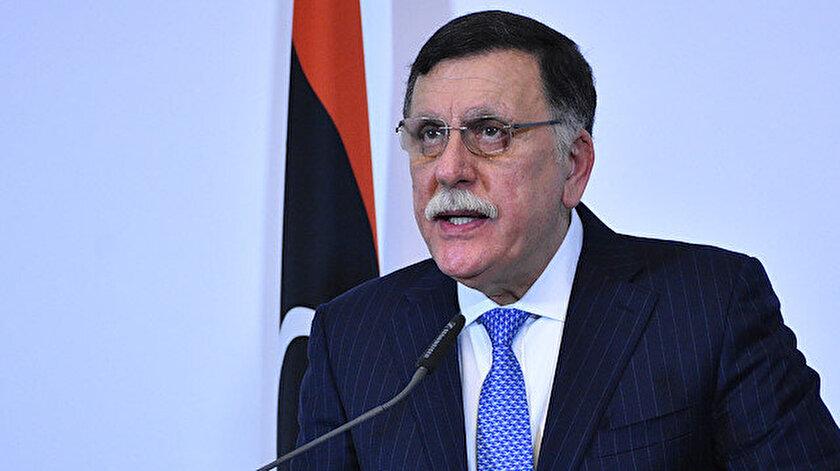 Libya Ulusal Mutabakat Hükümeti Başbakanı Fayiz es-Serrac.