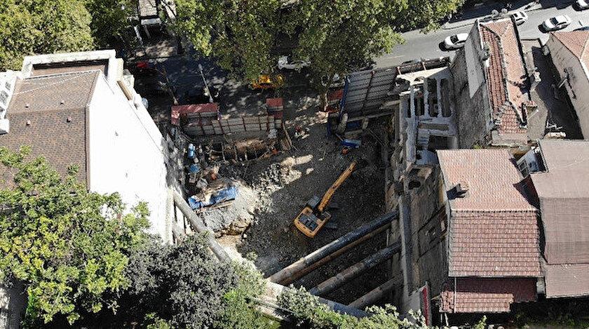 Beşiktaş Belediyesi çatlaklara rağmen binada yaşanabileceğine dair rapor hazırladı.
