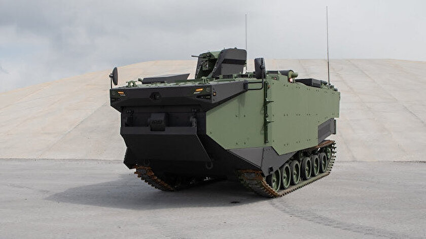 Zırhlı Amfibi Hücum Aracı