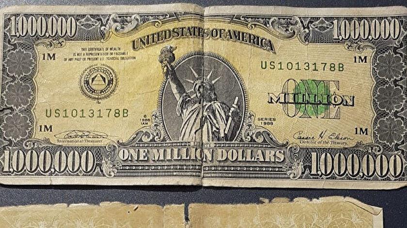 Kütahya haberleri: Bir milyon dolarlık banknot ele geçirildi