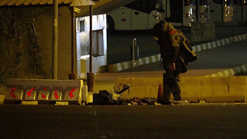 Şüpheli valiz ihbarı sonrası bölgeye bomba imha ekipleri de geldi.