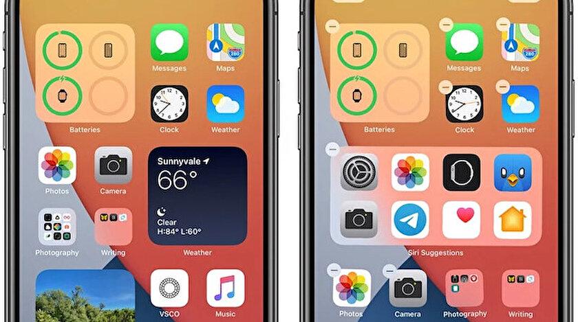 iOS 14 güncellemesi yayınlandı.