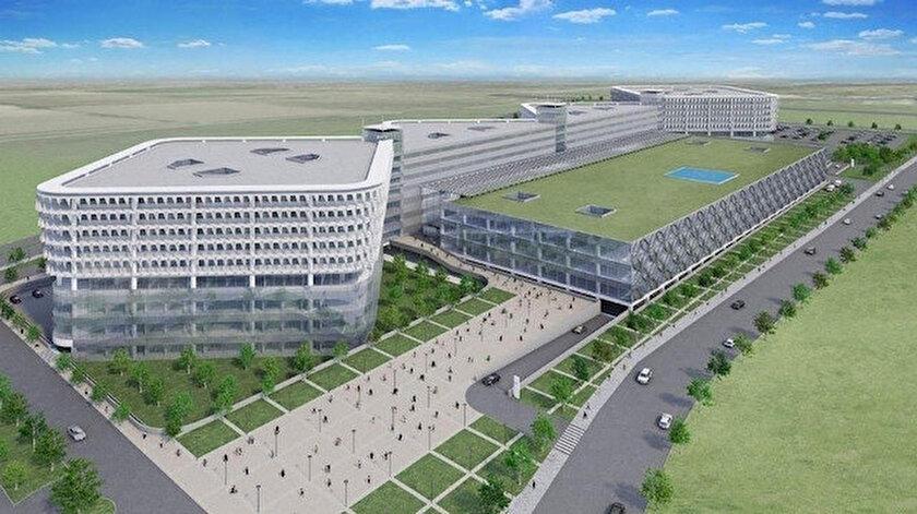 Aydın Şehir Hastanesi projesi