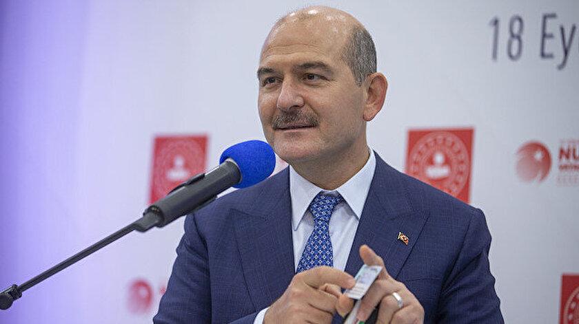 İçişleri Bakanı Süleyman Soylu, ehliyetlerin kimlik kartlarına yüklenmesi projesini anlattı.