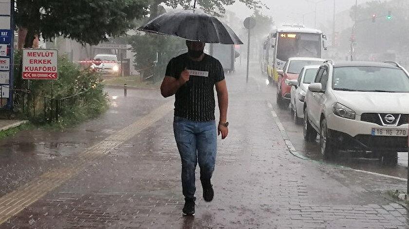 19 Eylül hava durumu: Sıcaklıklar düşüyor sağanak yağış geliyor