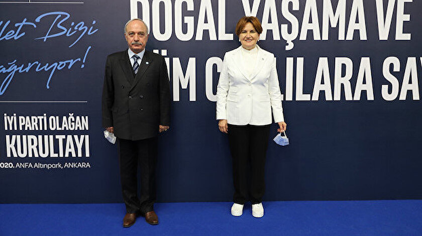 Emekli albay Erdal Sarızeybek,  İYİ Parti yönetimine seçildi.