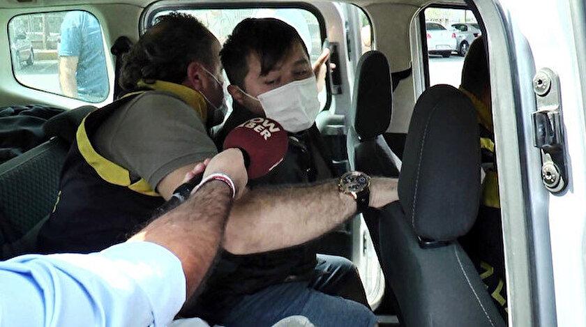 Adliyeye sevk edilen Cihan A, polisleri yine tehdit etti.