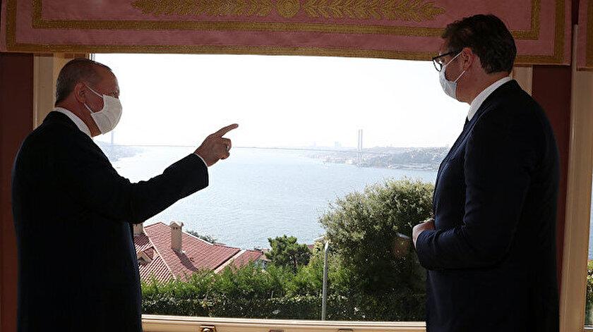 Cumhurbaşkanı Erdoğan -  Aleksandar Vucic