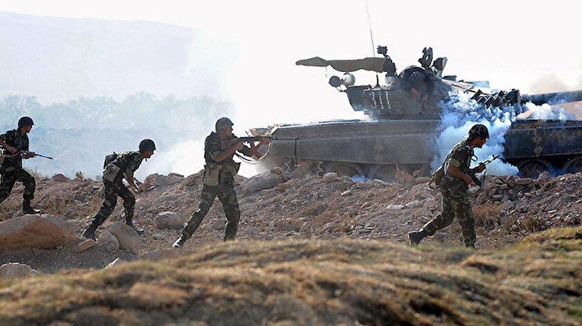 Ermenistan ordusu, Azerbaycan mevzilerine saldırı başlattı