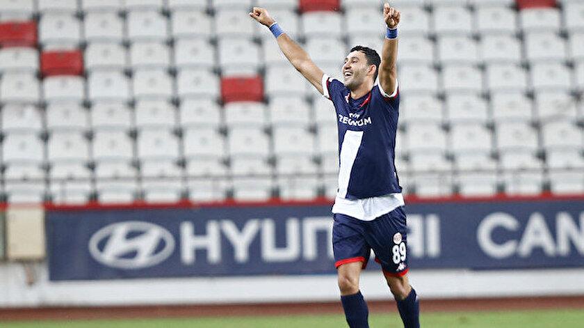Antalyaspor üçüncü haftanın kapanışını üç puanla yaptı