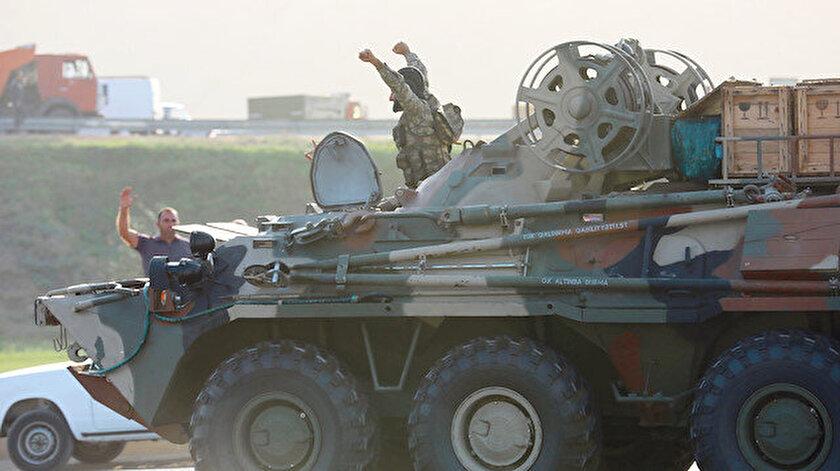 Kardeş Azerbaycan askerleri
