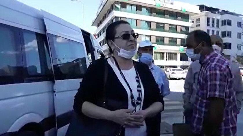 Darp edildiğini iddia eden kadın, yaşadıklarına isyan etti.