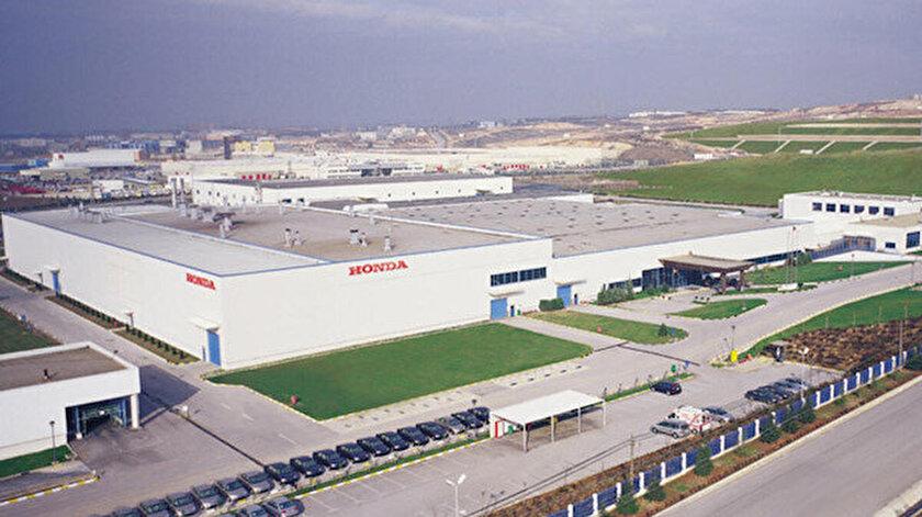 Honda'nın Gebze Şekerpınar'daki fabrikası.