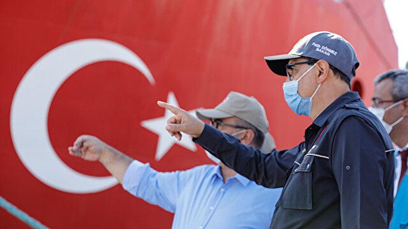 Enerji ve Tabii Kaynaklar Bakanı Fatih Dönmez.