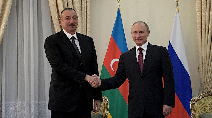 Vladimir Putin ve İlham Aliyev Dağlık Karabağı görüştü