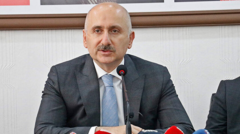 Ulaştırma ve Altyapı Bakanı Adil Karaismailoğlu.