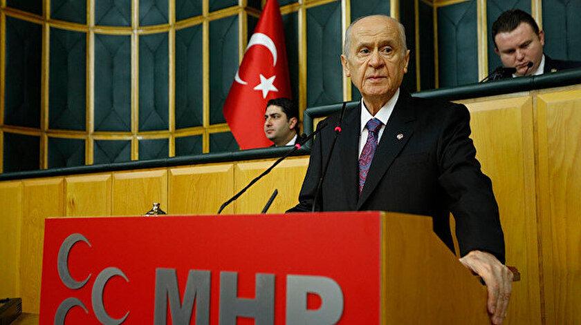 MHP Lideri Devlet Bahçeli Grup Toplantısında konuştu.