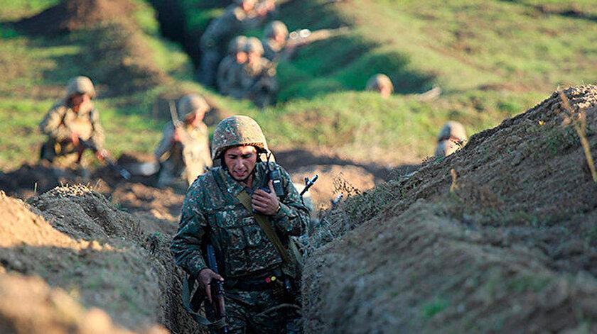 Dağlık Karabağ'da çatışmalar sürüyor.