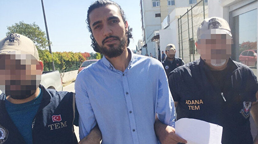 'Özden'in fedaisi' olarak bilinen eylem hazırlığındaki Barış Coşkun 8 Eylül'de Adana'da yakalandı.