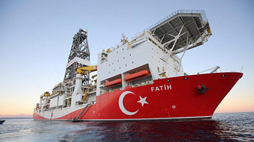 Enerji ve Tabii Kaynaklar Bakanlığı Fatih Sondaj Gemisi ile ilgili paylaşım yaptı.