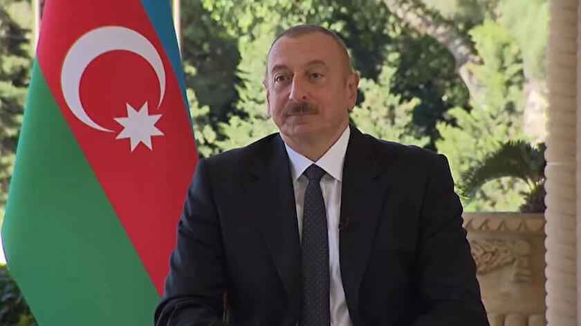 Azerbaycan Cumhurbaşkanı İlham Aliyev.