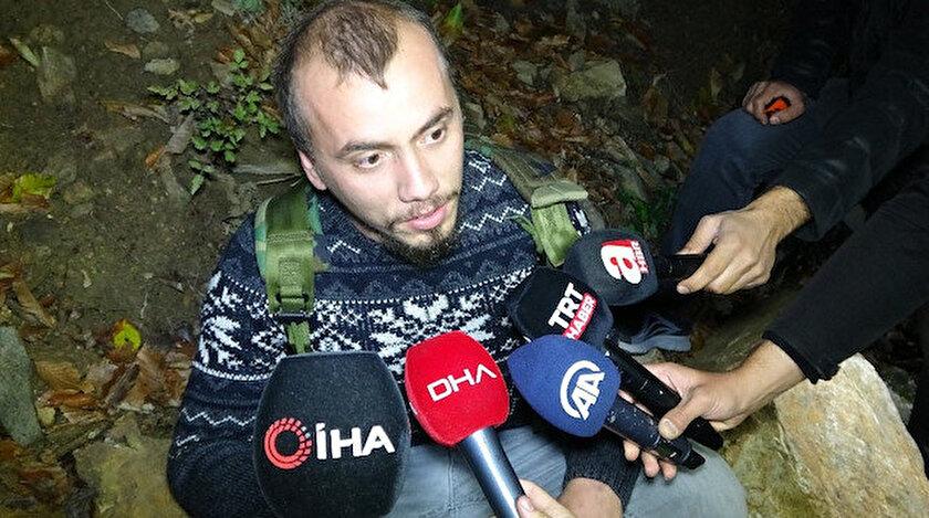 Bursa'da dağda kaybolan 4 kişi 6 saat sonra bulundu.