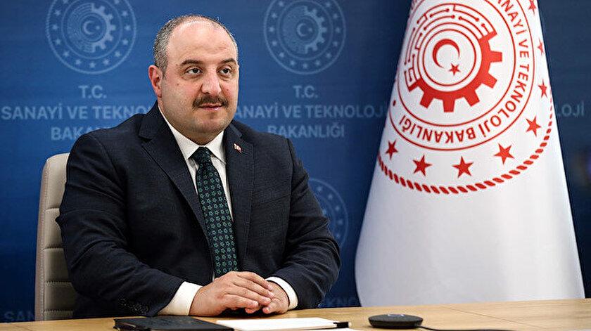 Sanayi ve Teknoloji Bakanı Mustafa Varank.
