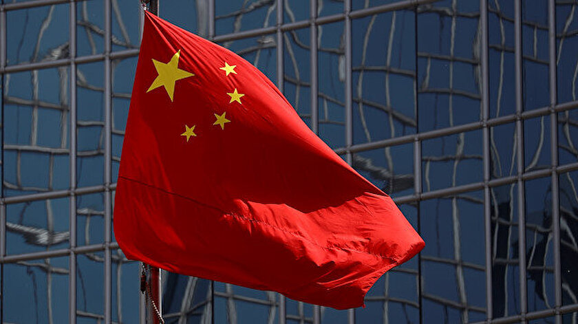 Geçen yıl Hong Kong'daki hükümet karşıtı protestolar sırasında Çin bayrağının ayaklar altında çiğnenmişti.