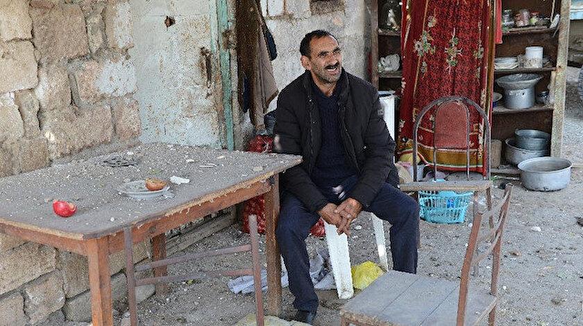 Hasankaya köyü sakini Efgan Hasanov.