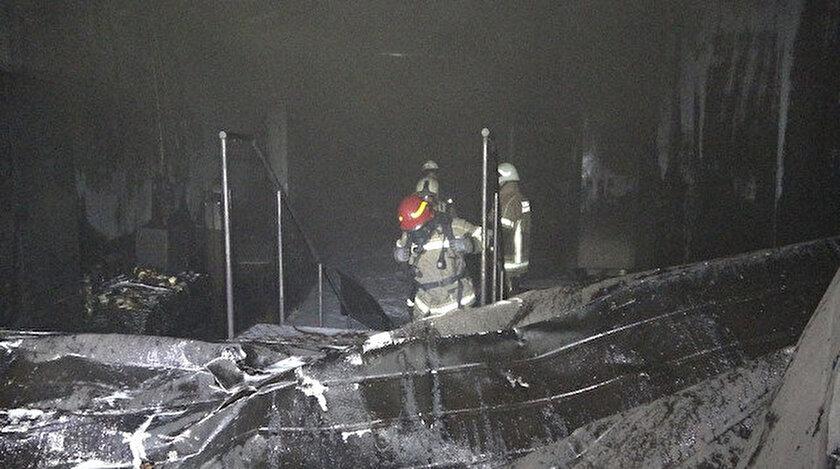 İtfaiye ekipler yangını bir saat sonunda söndürebildi.