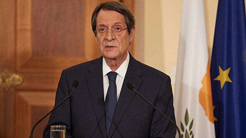 Güney Kıbrıs Rum yönetimi lideri Nikos Anastasiadis.