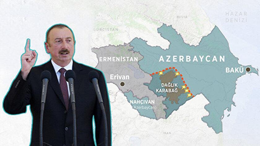 Dağlık Karabağ'da işgalin sona ermesinin ardından Azerbaycan yönetimi, Nahçıvan ile bağlantı sağlayacak bir kara yolu hattı talep edebilir.