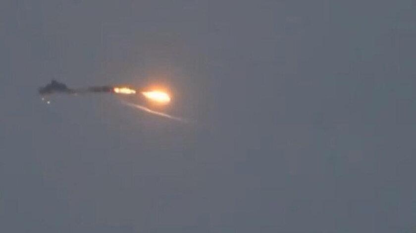 Azerbaycan ordusu tarafından düşürülen Ermenistan ordusuna ait bir insansız hava aracı.