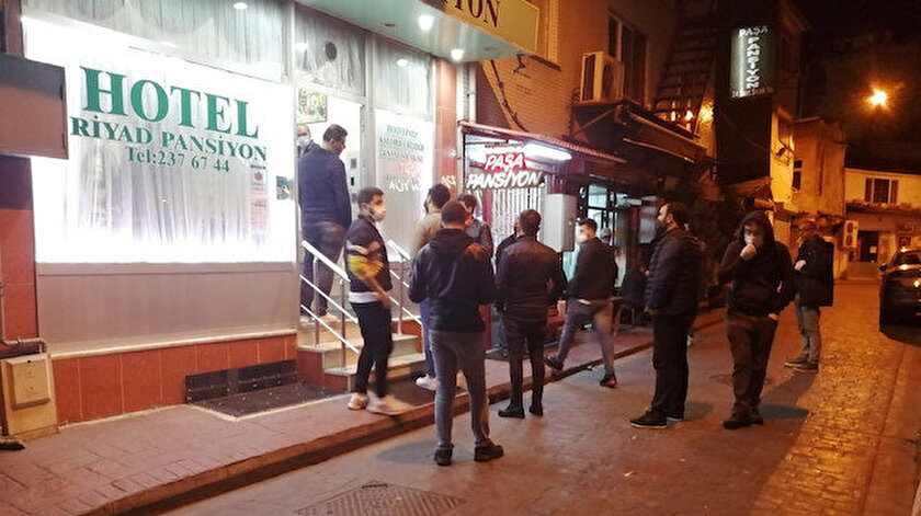 Beyoğlu'nda 'Çukur' operasyonu devam ediyor.