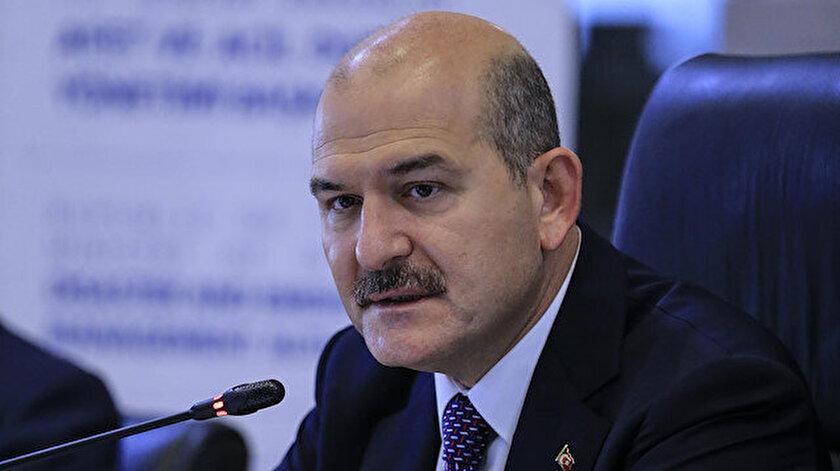 İçişleri Bakanı Süleyman Soylu açıklama yaptı.