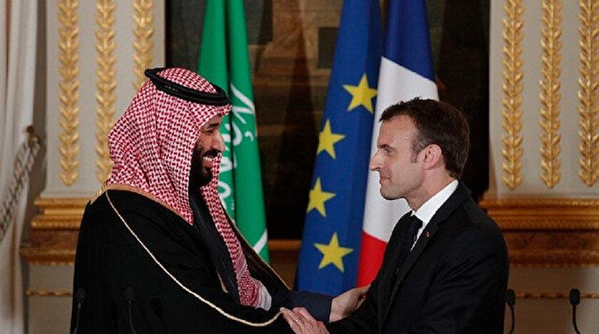 Veliaht Prens Muhammed Bin Selman ve Fransa Cumhurbaşkanı Emmanuel Macron geçen yıl bir araya gelmişti.