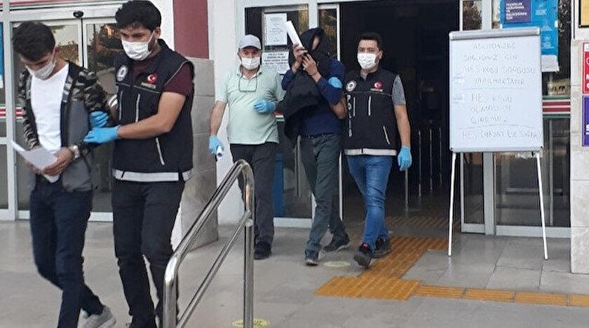 Şanlıurfada uyuşturucu operasyonu: Şüpheliler tutuklandı