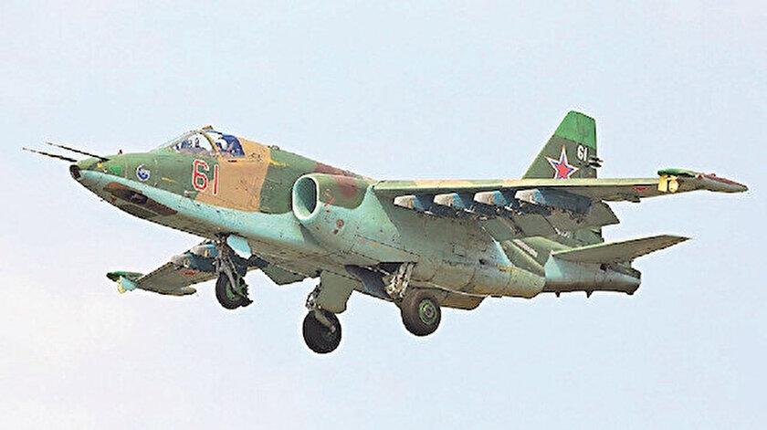 Ermenistan'a ait savaş uçağı.
