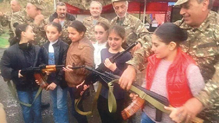 Ermenistan, Azerbaycan'a karşı çocuk askerleri kullanarak savaş suçu işliyor.