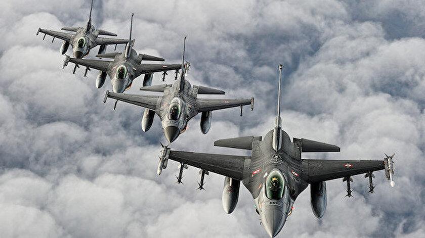 Türk F-16'ları.