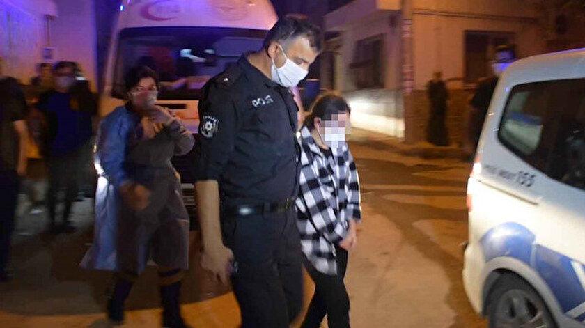 Bir inşaatta elleri ve ayakları iple bağlı 12-13 yaşında olduğu belirtilen bir kız çocuğu bulundu.