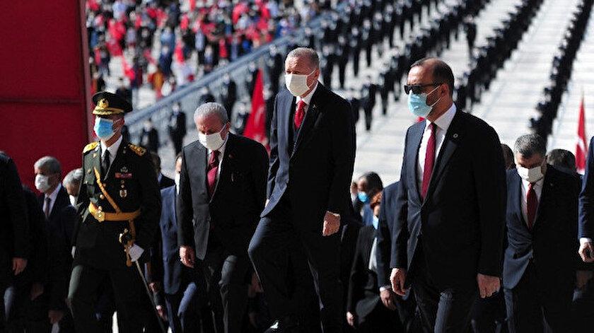 Cumhurbaşkanı Recep Tayyip Erdoğan.