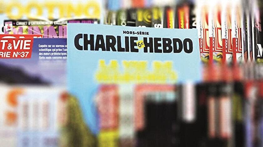 Dilekçede, derginin yayınında basın özgürlüğünün getirdiği sorumluluk bilinciyle hareket edilmediği aktarıldı.