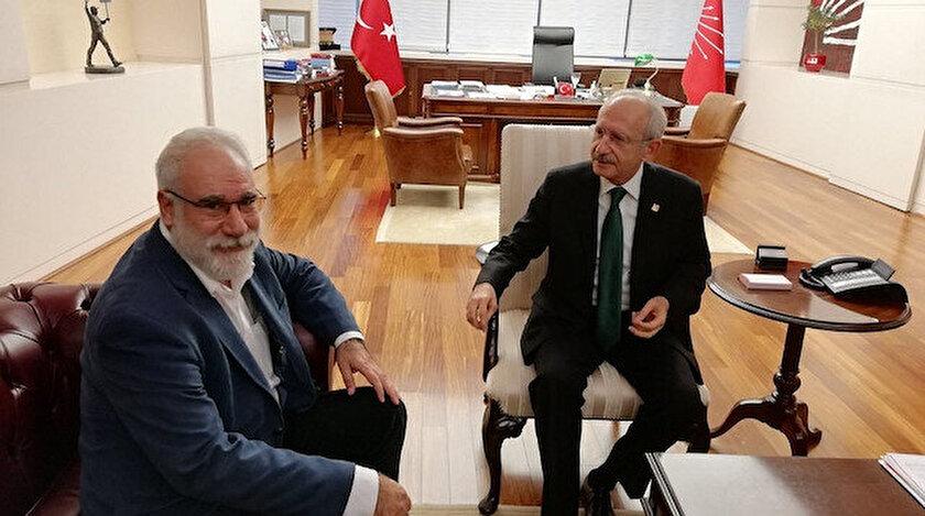 İmambakır Üküş ve CHP Genel Başkanı Kemal Kılıçdaroğlu