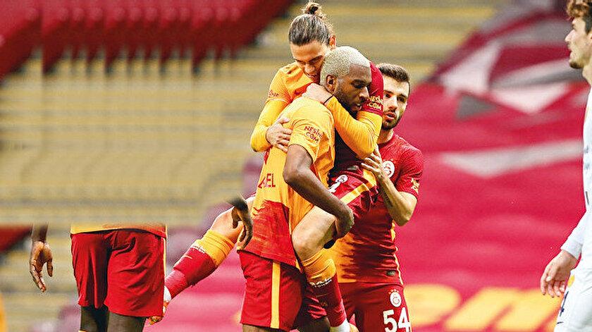 Sarı-kırmızılı takıma galibiyeti getiren golü Babel kaydetti.