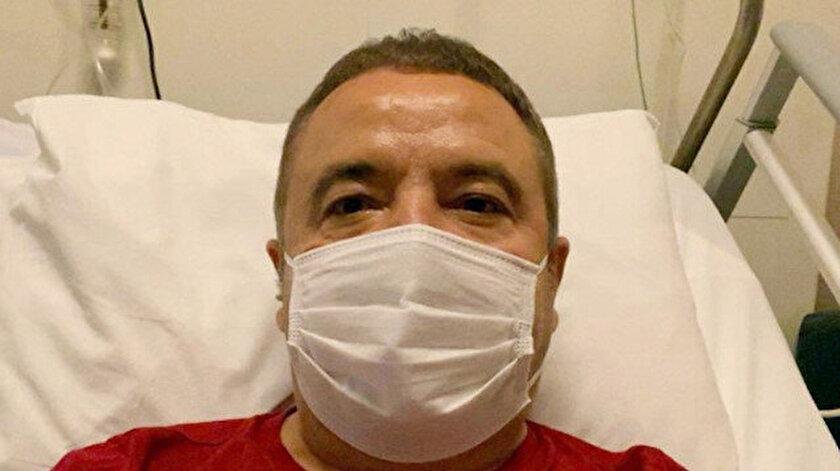 Muhittin Böcek, 17 Ağustos'tan beri koronavirüs tedavisi görüyor.