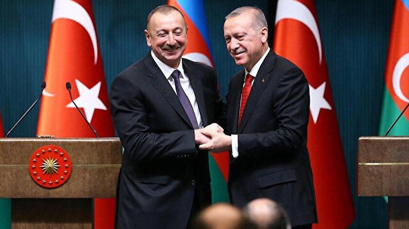 Recep Tayyip Erdoğan ve İlham Aliyev