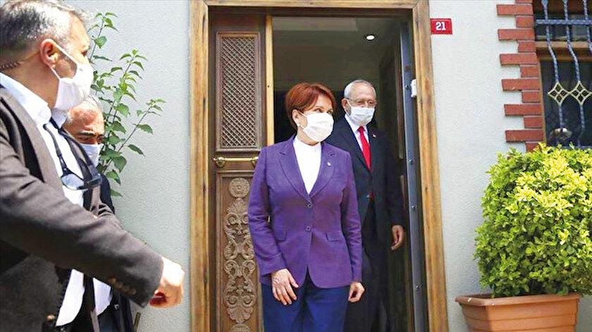 Meral Akşener - Kemal Kılıçdaroğlu