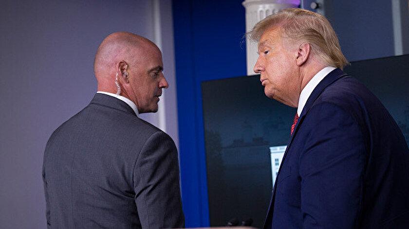 ABDden dikkat çeken haber: Trumpın 130 koruması karantinaya alındı